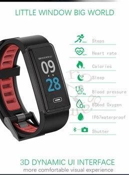 a89eef4a459c DHL 10 unids lote G23 pulsera inteligente monitor de ritmo cardíaco sangre  presión medidas Disparador