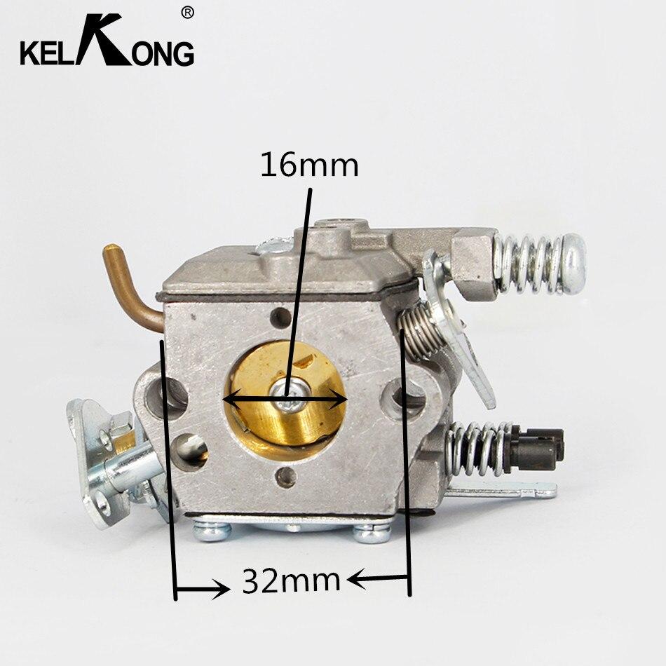 KELKONG Pour HUSQVARNA 136 137 141 142 Chaude Tronçonneuse Carburateur Carb Remplacement Réparation Partie Automatique Du Moteur Glucides Compatible