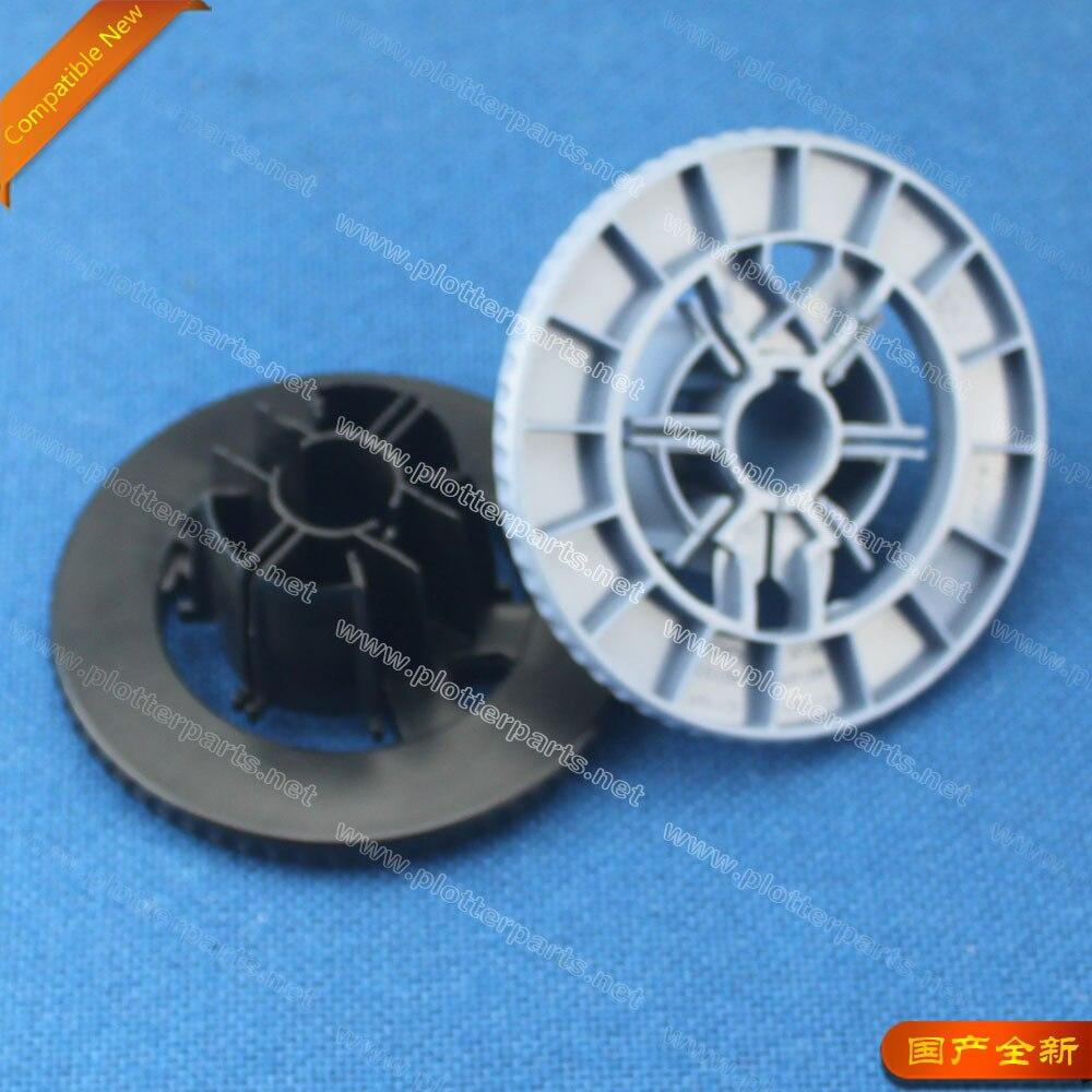 C7769-60401 C7769-40169 HP DesignJet 30 70 90 100 500 800 1050C 1055CM END CAP Spindle HUB(black + blue) new