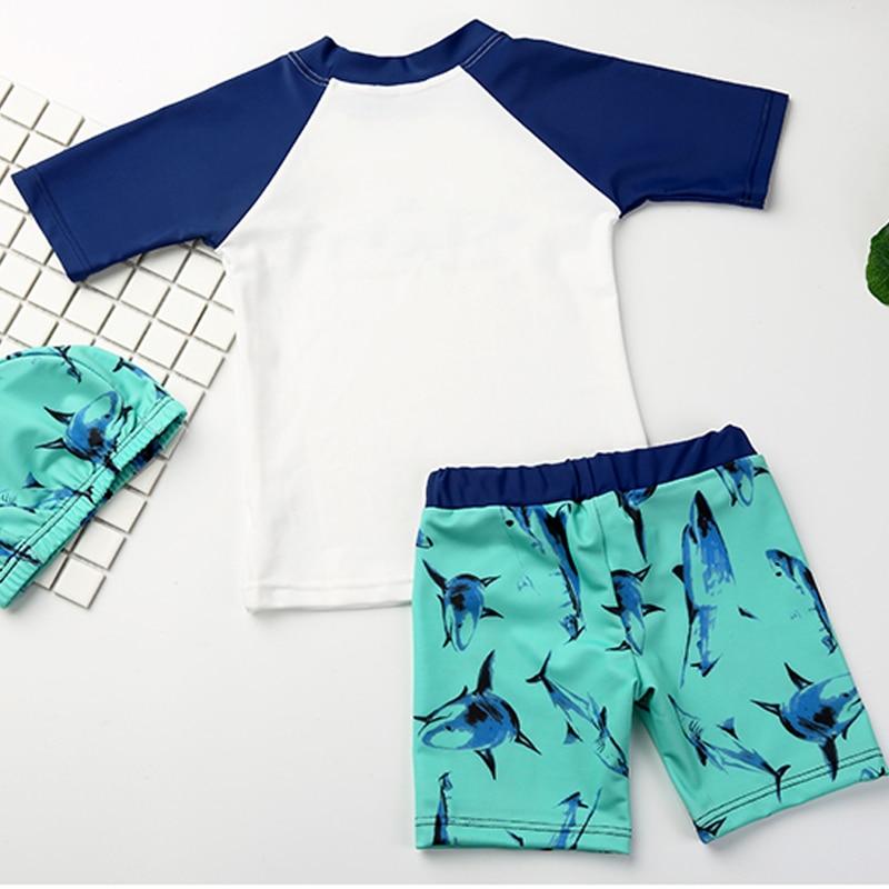 Baby Kids Patroon Jongen Sneldrogend Shark Y286 Badpak QChBtdsrx