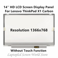 FTDLCD 14'' HD LCD Screen Display Repair Laptop Panel For Lenovo ThinkPad X1 Carbon 1366x768 (Without Touch Function)