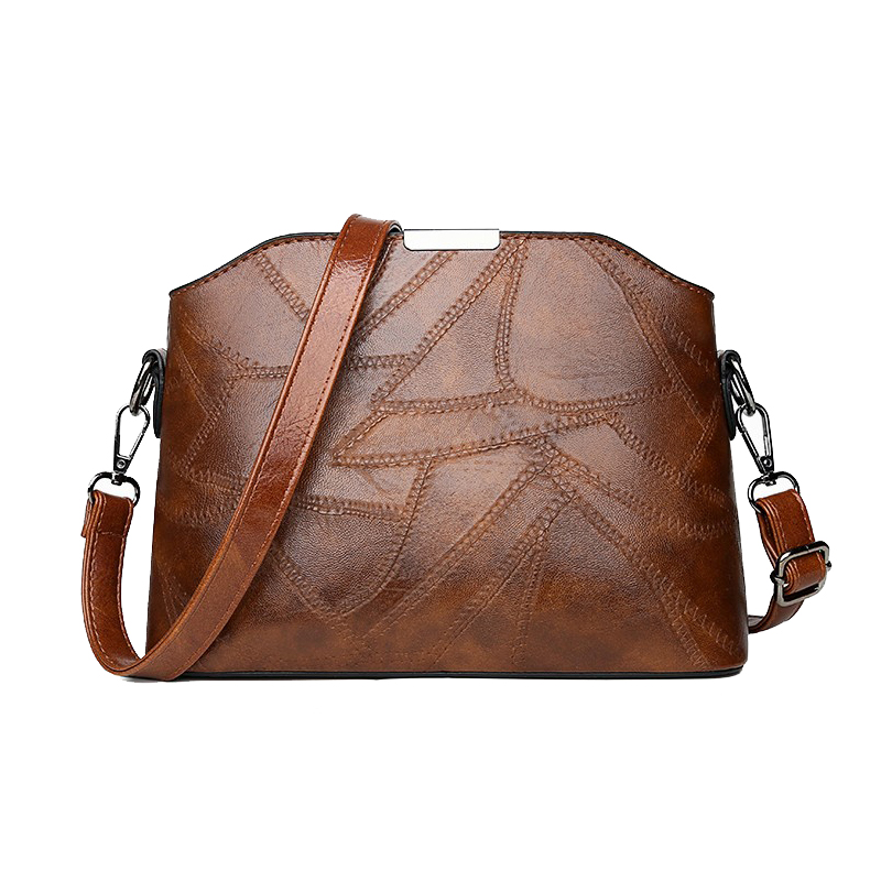 Crossbody Bags for Women Designer Bags Famous Brand Women Bags 2018 Luxury Leather Ladies Shoulder Stitching PU Crossbody Bag in Top Handle Bags from Luggage Bags