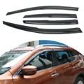 4 Pcs/Set Window Visor Rain Sun Wind Guard Vent Shade Front Rear Left Right For Nissan /Altima 2008-2012