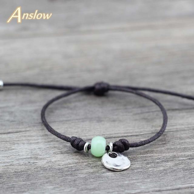 Anslow Cute Romantic Korean Pulseiras Masculinas Leather Bracelete For Women Fri