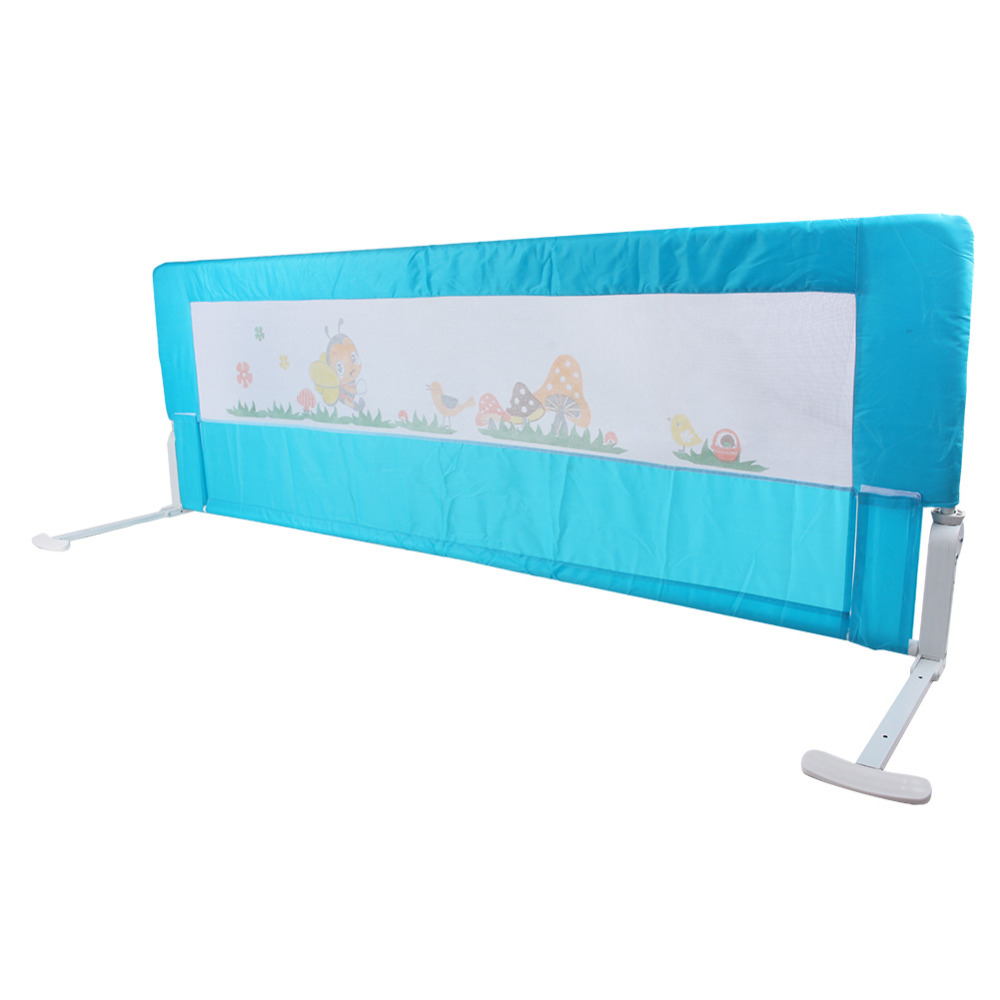 180cm Kids Bed Guard Toddler Safety Childs Bedguard Baby Folding Rail Protection Guards In Hooks Rails From Home Garden On Aliexpress