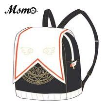 Msmo аниме Card Captor Cardcaptor Сакура форма randoseru рюкзак милый Седзе Клоу карты школьные сумки для девочек-подростков