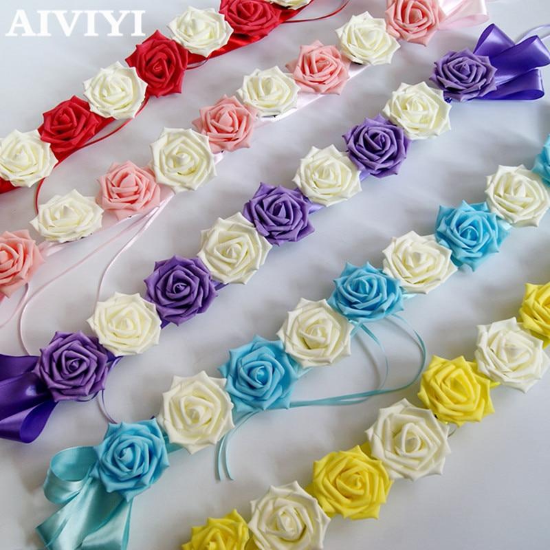Flower Decoration Wedding: Wedding Flower Bouquet Car Decoration Flower Auto Roof