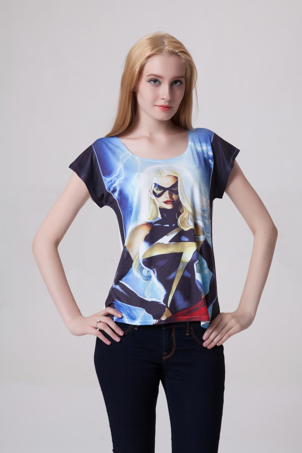 top quality marketable super specials Womens Plus Size Blank T Shirts - DREAMWORKS