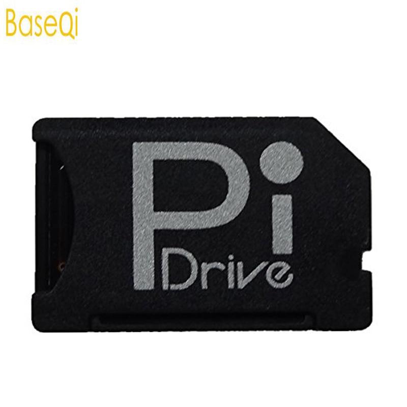BaseQi bajo perfil Micro SD adaptador para Raspberry Pi