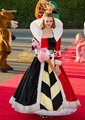Alice In Wonderland for adult red Queen of Hearts costumes Women's fantasias dress movie costume cosplay halloween