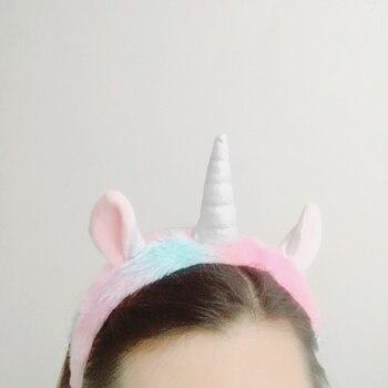 Sleeping Unicorn Wear (Eye Mask Drawstring Bag Hair Hoop and Slippers)