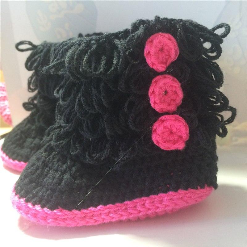 купить бесплатная доставка вязание крючком сапоги и ботинки для