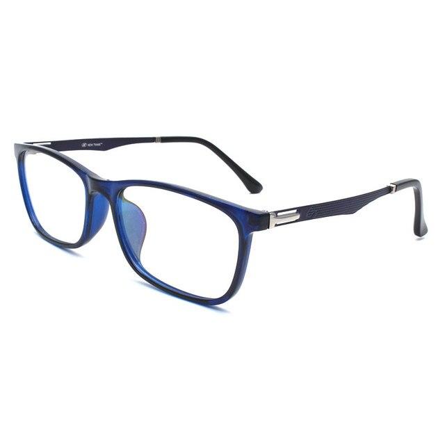 TR 90 プラスチック眼鏡フレーム男性ファッション光学近視処方クリアコンピュータ眼鏡フレーム X2005 フレーム眼鏡