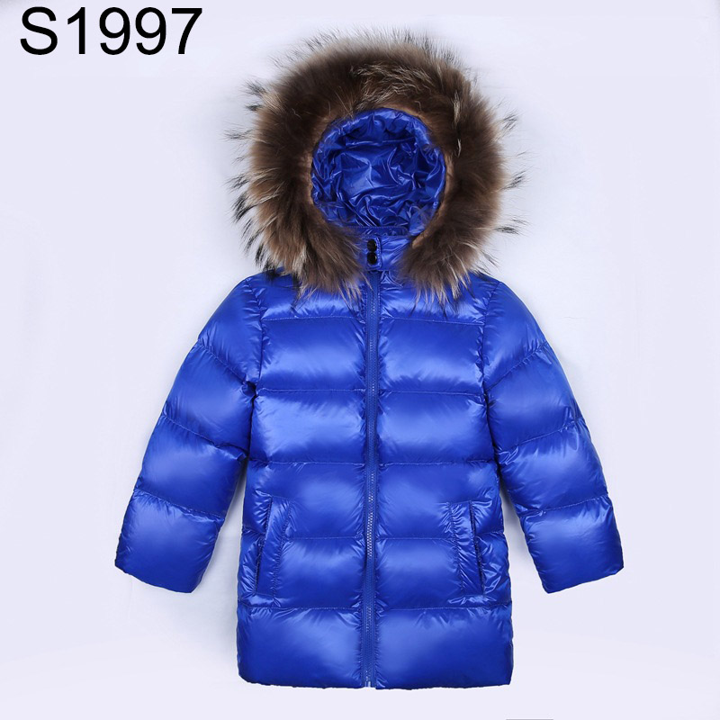 Winter Duck Down Jacket Parka For Girls Boys Coat Cildren's Warm Long Sleeve Snowsuit Kids Fur Collar Hooded Outerwear Coats nice winter women hooded coat fur collar thicken warm long jacket female plus size outerwear parka ladies parkas feminino zipper