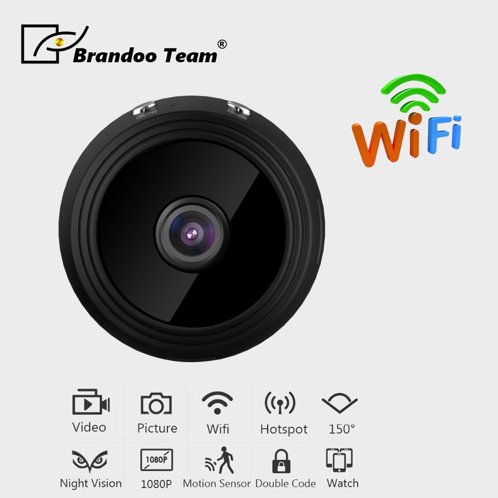 купить A9 Micro WIFI Mini Camera HD 1080P With Night Vision IP Home Security Video Cam Camcorder по цене 2821.73 рублей