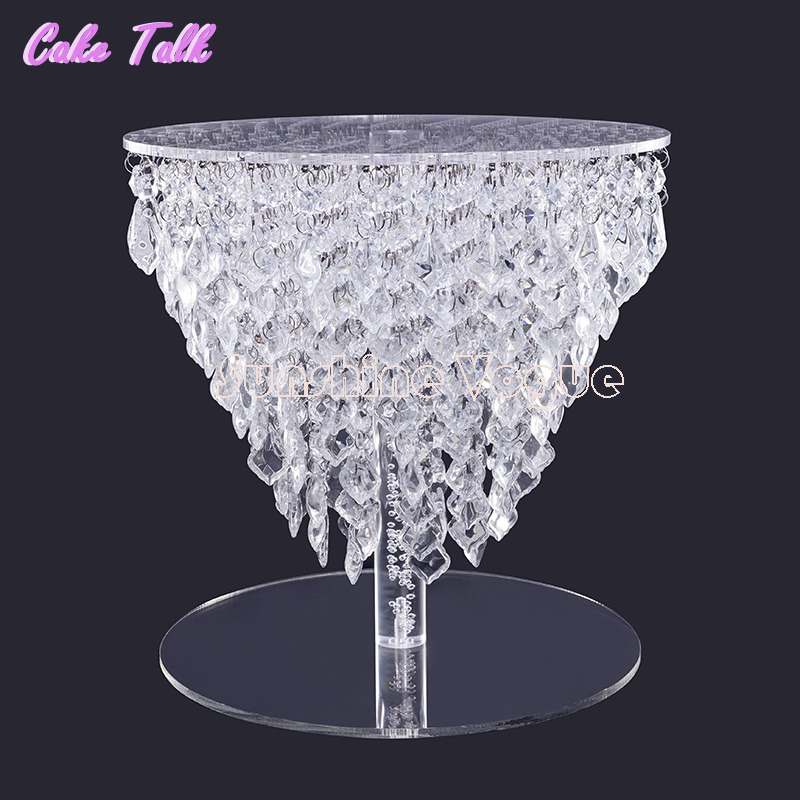 Gorgeous Crystal Cake Stand Cake Accessory 12 Inch