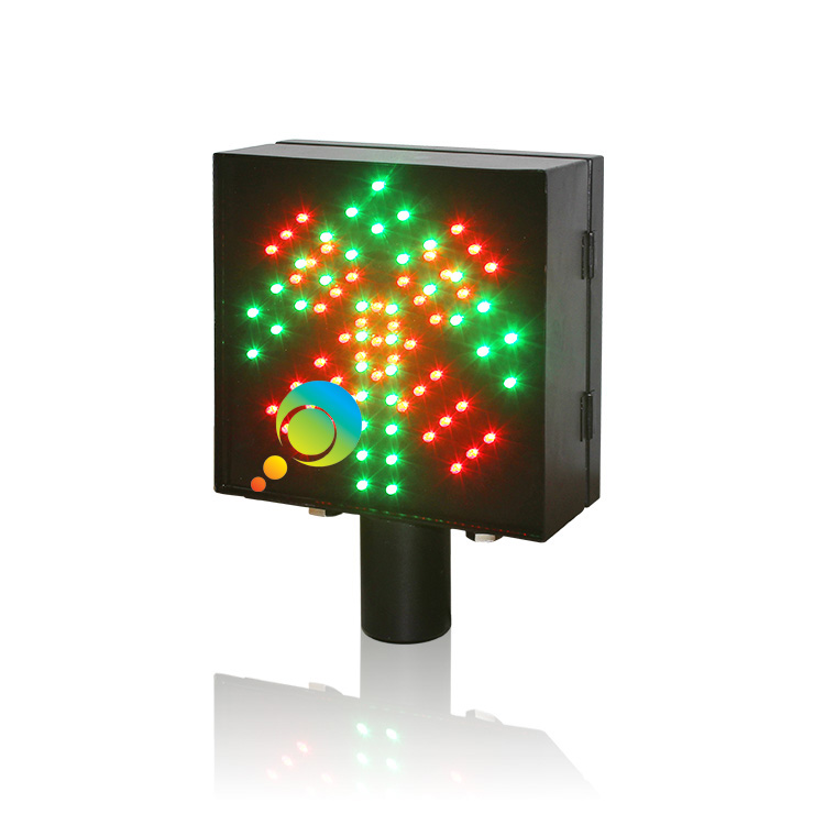 High quality 200mm toll station stop go red cross green arrow traffic signal light