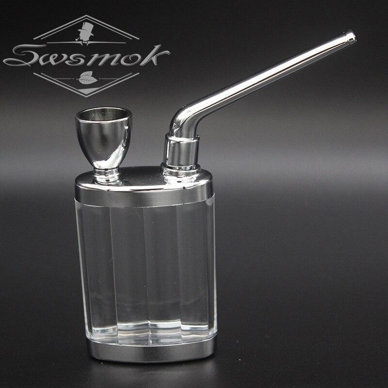 Bottle Water-Pipe Mini Hookah-Shisha-Tobacco-Smoking-Pipes-Metal-Tube-Filter