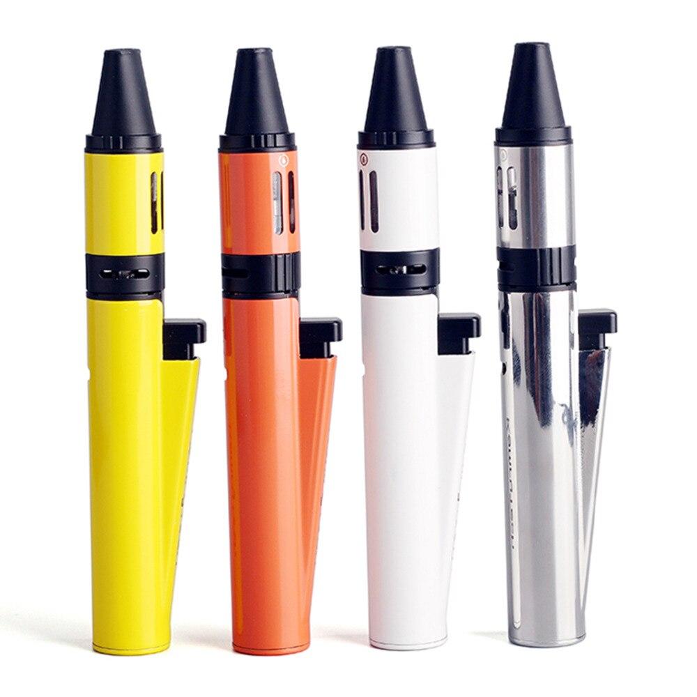 100% original Kamry Lighter Electronic Cigarette Lighter kit 1300mAh Electronic Hookah Vaporizer Vape Pen For E Cig Starter
