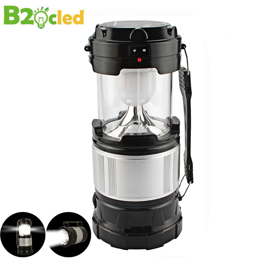 Large flashlight Solar charging camping lantern camping lantern Portable lamp Outdoor lighting emergency power Old man lamp cheaper hot sell solar energy small lighting system emergency lighting for camping boat yacht free shipping