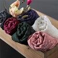 Primavera e no verão tendência nacional fluido de cor sólida cachecol lenço de renda das mulheres do vintage bordado protetor solar capa feminino