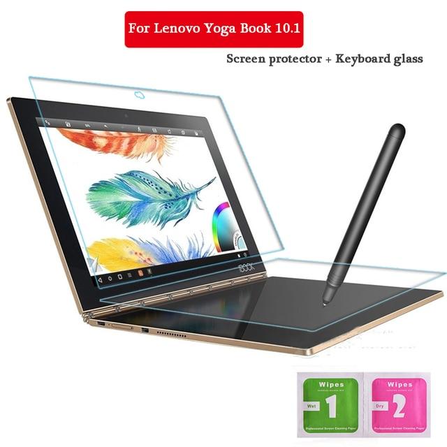 Для Lenovo Yoga 10.1 Дюймов Закаленное Стекло + Клавиатура стекло Экрана Защитите Tablet PC Фильм 2.5D Край 9 H Прозрачный ультра-тонкий