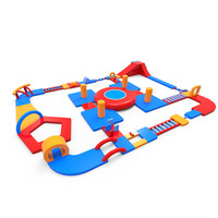 Outdoor Safety Inflatable Water Park Hot Selling Water Floating Amusement Game