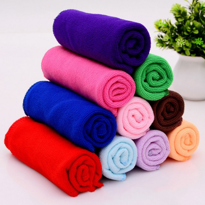 10pcs Cleaning Cloth Microfiber Car Wash Towel Car Car Waxing Polishing Drying Detailing Car Care Kitchen Housework Towel gtm 24