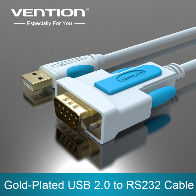 Vention USB to PS2 Connect Cable USB 2.0 Male to Standard PS/2 Female Converter Cable Adapter for Keyboard/Mouse