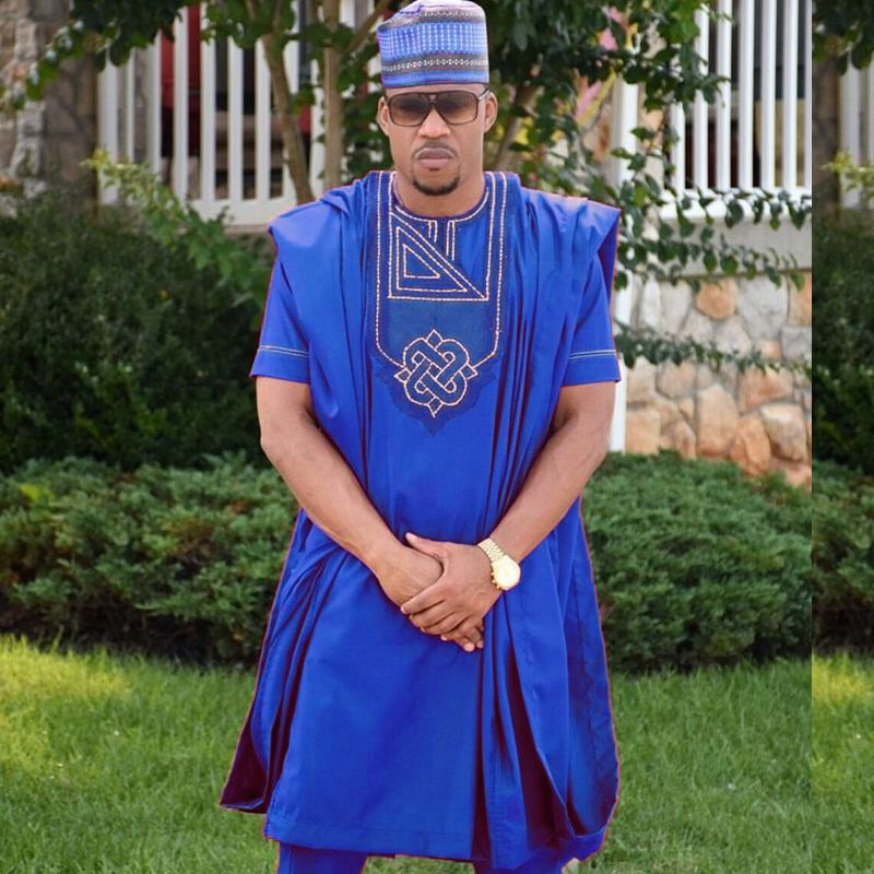 african men clothes dashiki suits tops pant suit 3 pieces set africa mens clothing africain no
