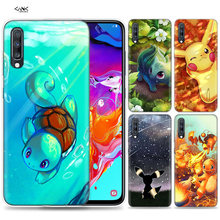 Bags Case for Samsung Galaxy Mobile Phone A50 A70 A30 A20 J4 J6 J8 A6 A8 M30 A7 Plus 2018 Note 8 9 Cartoon Pokemons Coque J6Plus(China)