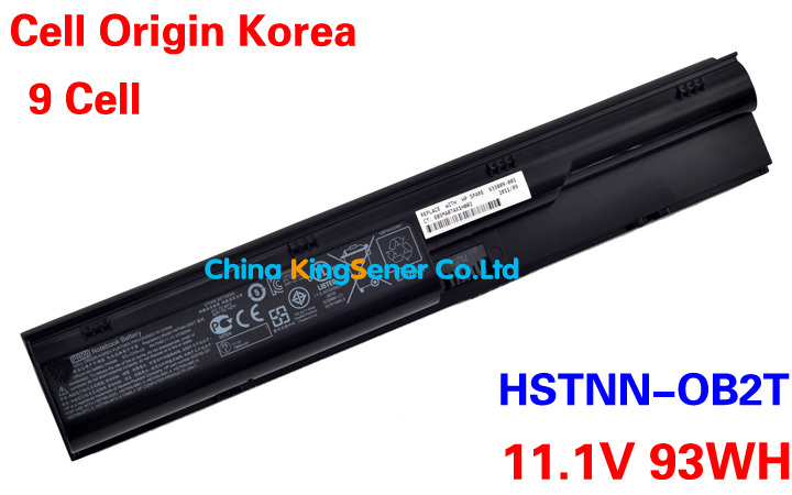 ФОТО 93WH Korea Cell Genuine Laptop Battery PR09 For HP Probook 4330S 4331S 4430S 4431S 4435S 4536S 4530S 4730S HSTNN-OB2T PR06