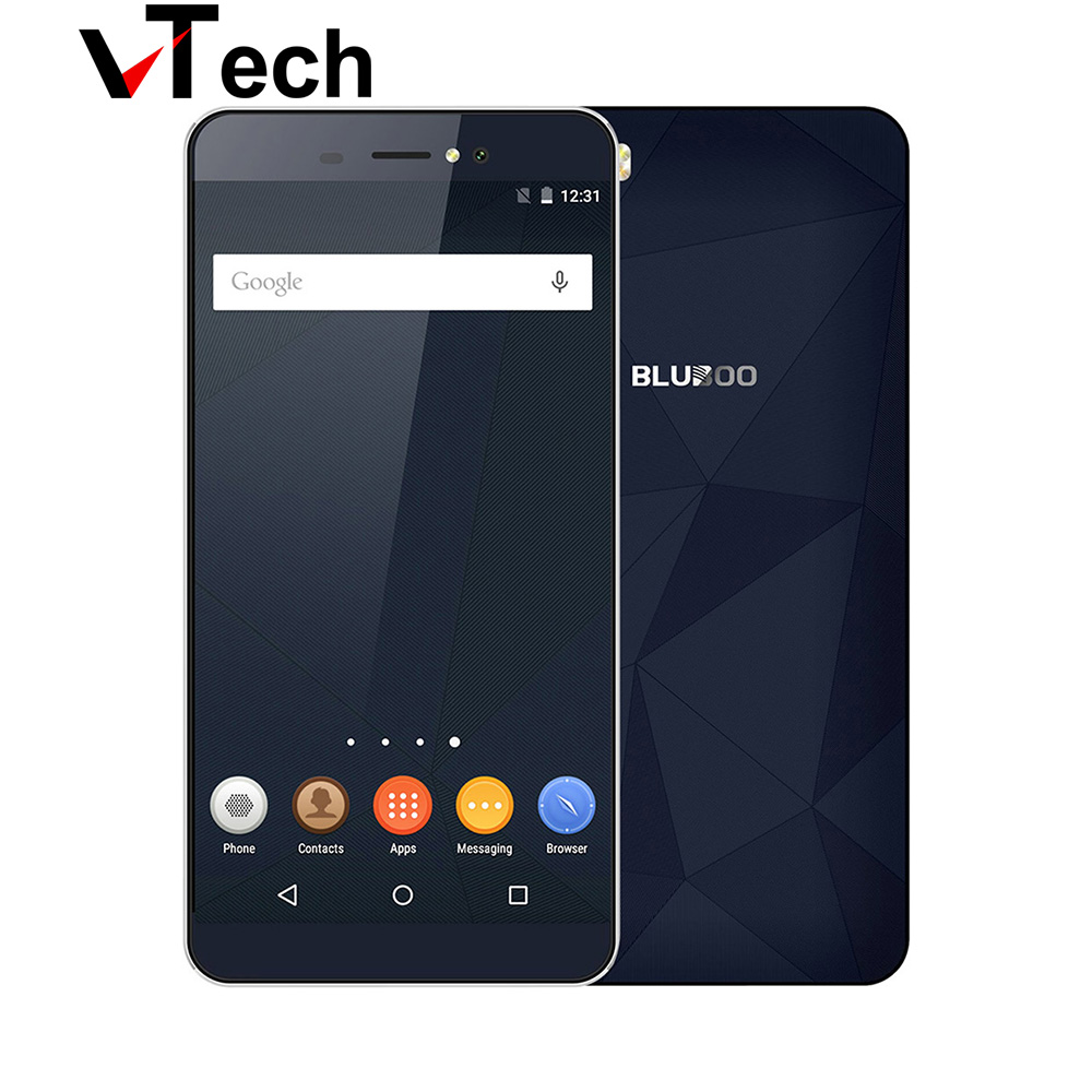Цена за Оригинальные Bluboo MT6735 Пикассо 4 Г 5.0 Дюймов Смартфон Quad Core Android 6.0 Сотовый Телефон 2 ГБ RAM 16 ГБ ROM 13MP 4 Г LTE Mobile телефон