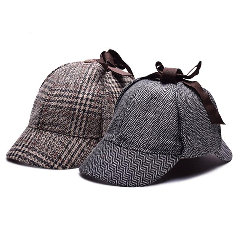 Detail Feedback Questions about Cosplay Cap Detective Sherlock Holmes  Deerstalker Hat Gray Cups New Berets Cap Vestidos on Aliexpress.com  91c40e65b4fb