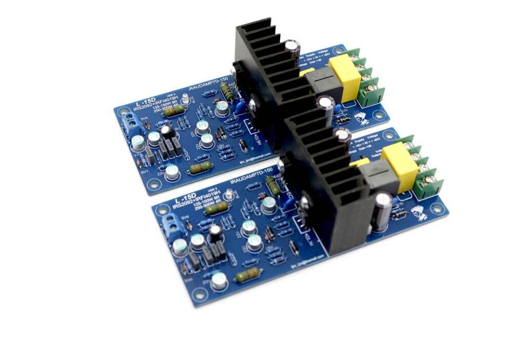 NOUVEAU L15D Numérique Audio Amplificateur Kit/conseil IRS2092 IRFI4019H (Comprennent 2 canal)