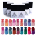 BORN PRETTY Thermal Colour Change Gel Polish Manicure 1 Bottle 10Ml Soak Off Nail UV Gel Polish 1-18
