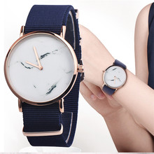 Hot Sale Nylon strap Style Quartz Women Watch Top Brand Watches Fashion Casual Fashion Wrist Watch Relojes(China)