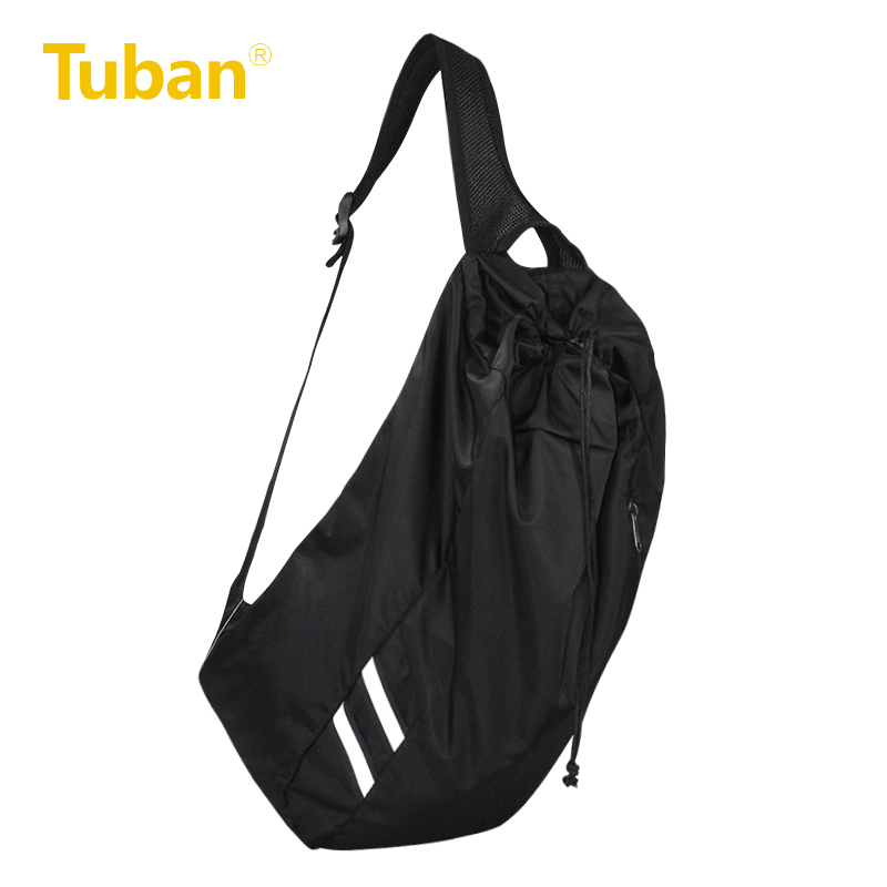b459180ac8 Tuban Sports Bucket Bag Unisex Leisure Outdoor Shoulder Bag Fitness Running  Gym Basketball Football Portable Drawstring Bags-in Running Bags from Sports  ...