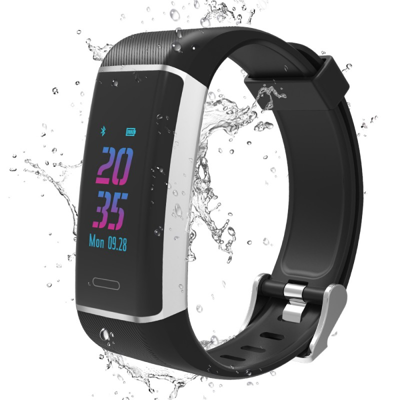 W7 Smart Bracelet Independent GPS Bluetooth Smart Wristband Waterproof Sports Fitness Tracking Dynamic Heart Rate Smartband