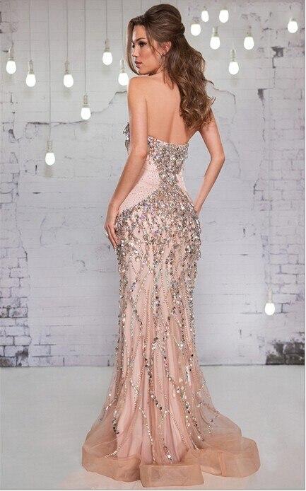 Aliexpress.com : Buy Stunning Beautiful Evening Gowns 2015 Long ...