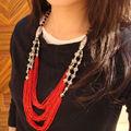 Tibet Nepal jóias étnicas colar D-087
