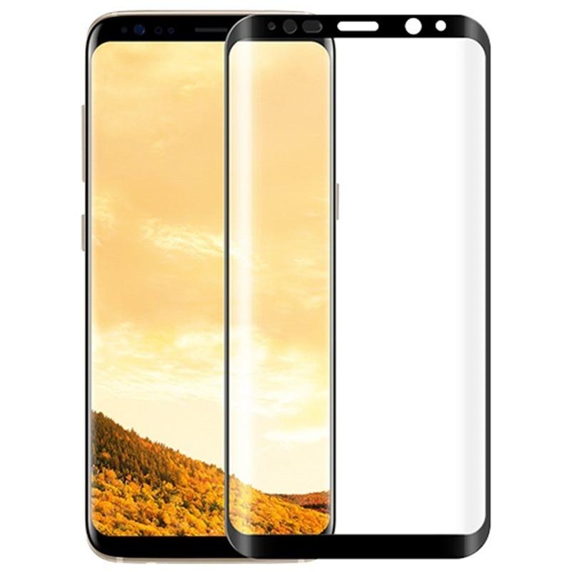 HD Tempered Glass For Samsung S8 S8 Plus S8 + Japan Ashahi Screen Protector 0.26 Mm 3D Full Nano PET Screen Glass Film
