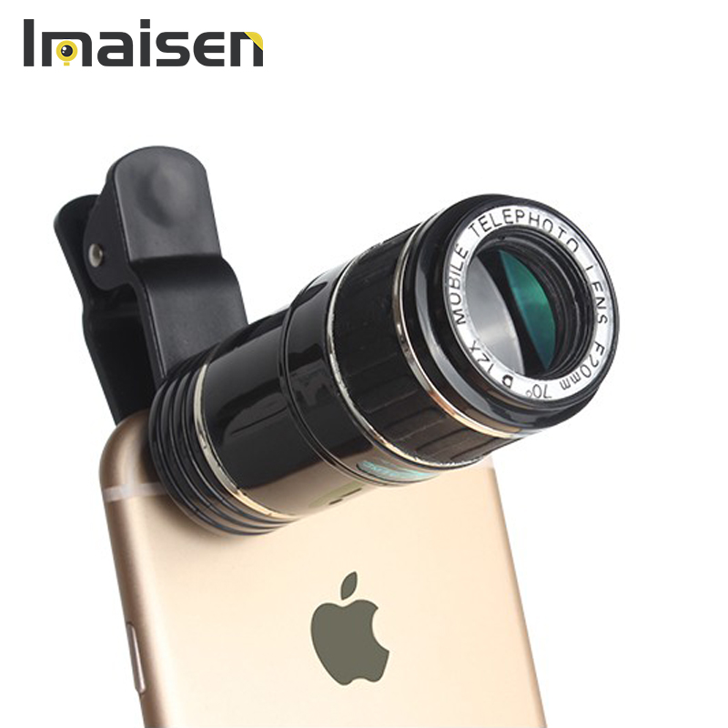 Универсальный мобильный телефон телескоп 12X зум телефото зум-установить объектив камеры для мобильного телефона iphone android-смартфон htc