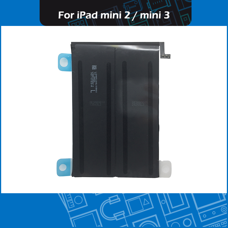 A1512 Battery for Apple iPad Mini 2 A1489 A1490 A1491 iPad Mini 3 A1599 A1600