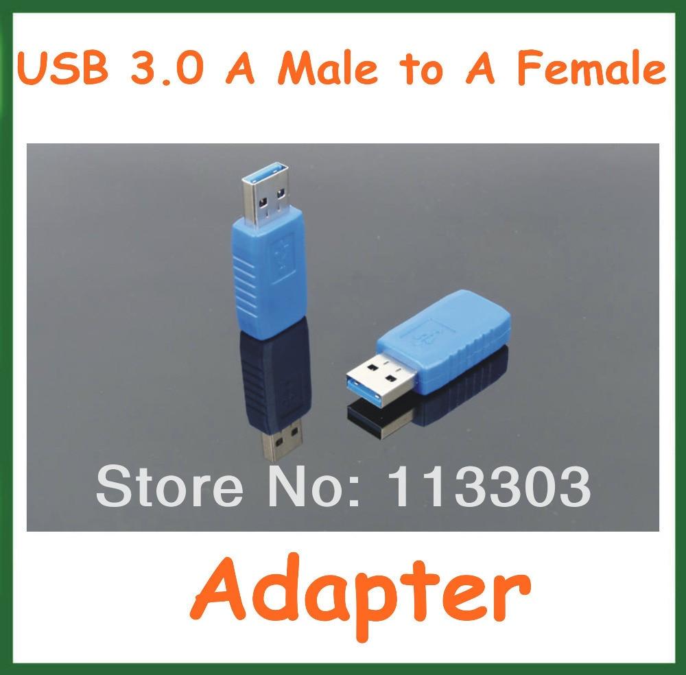 100 шт. USB 3.0 мужчин и женщин адаптер USB3.0 AM AF Connector Extender конвертер