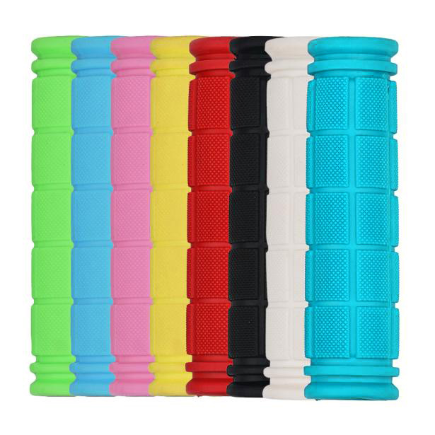 1 Pair Soft Rubber Outdoor Sports Cork Bike Bicycle BMX MTB Cycling Mountain Bicycle Bike Handle Bike Rubber 8 Colors