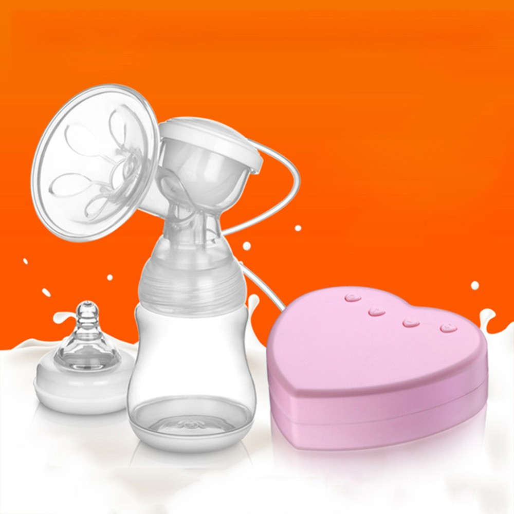 Electric-Breast-Pump-Milk-Automatic-Baby-Products-Milk-Sucking-Breastpump-Starter-Advanced-Pink-Postpartum-Breast-Feeding-Breast-Milk-T0101 (1)