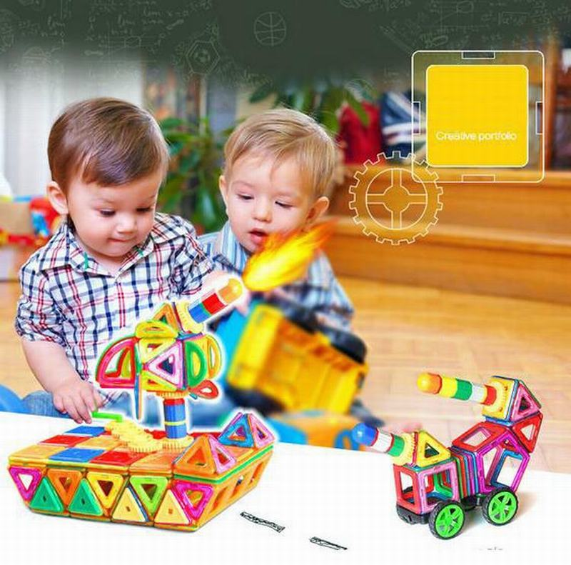 Magnetic Designer Construction Toy Kids Educational Toys Plastic Creative Bricks Enlighten 237pcs/Set Magnetic Building Blocks 32pcs magnet toy 2016 new magnetic pipe building block children diy educational construction enlighten baby toys creative bricks