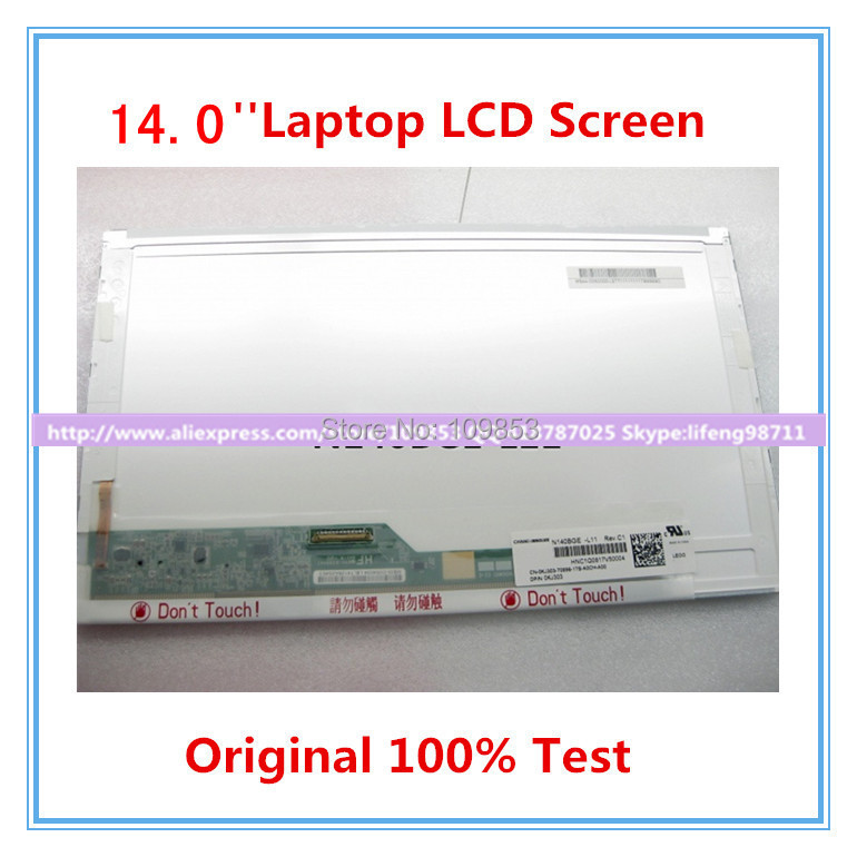 N140BGE-L12 N140BGE-L22 N140BGE-L21 N140BGE-L11 BT140GW01 LP140WH1 TLA1 LTN140AT02 LCD Screen