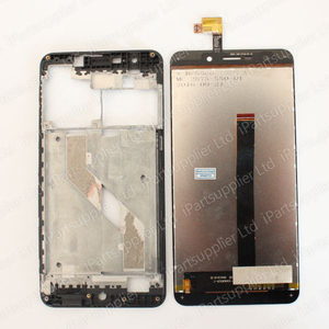 Image 3 - UMI Super LCD Display with Touch Screen Assembly+Middle Frame 100% Original LCD+Touch Digitizer for UMI Super F 550028X2N
